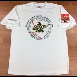 Vintage MLB Oakland As 30th Anniversary Dream Team
